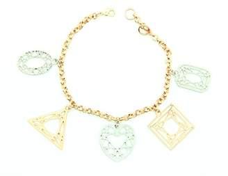 Girls' Best Friends Charm Bracelet GBCHARM5003 Brass 19.5 cm