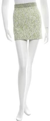 Proenza Schouler Woven Mini Skirt