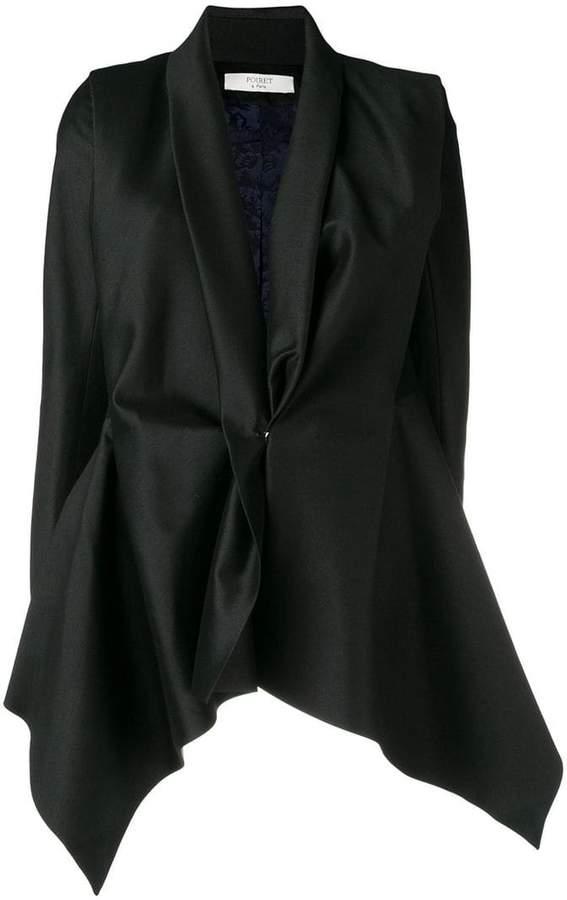 Poiret asymmetric blazer