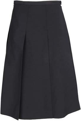 Rochas Pleated Mini Skirt