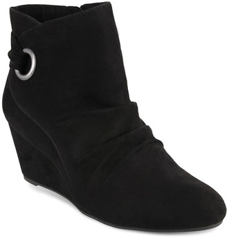 London Fog Jules Women's Wedge Ankle Boots