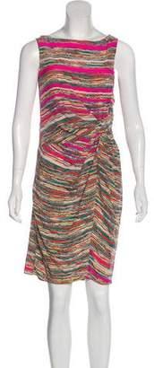 Thakoon Silk Striped Dress