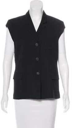Calvin Klein Collection Lightweight Button-Up Vest