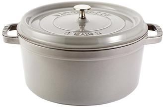 Staub Round Cocotte - Graphite Gray