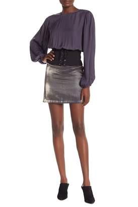 Do & Be Do + Be Gunmetal Skirt
