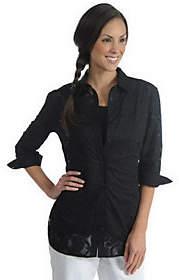 Liz Claiborne New York Burnout Pattern Tunic w/Shell