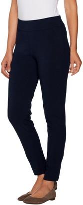 Susan Graver Petite Premium Stretch Slim Leg Pull-On Pants