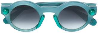 Christopher Kane Eyewear round-frame sunglasses