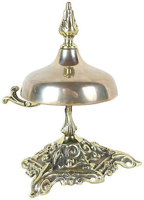 One Kings Lane Vintage English Victorian Desk Bell - Schorr & Dobinsky