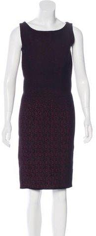 pradaPrada Velvet Jacquard Dress