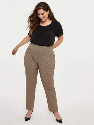 Savvy Printed Straight Leg Pant - In Every Story