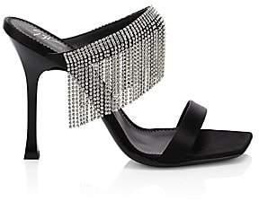 Giuseppe Zanotti Women's Jewel Fringe Stiletto Sandals