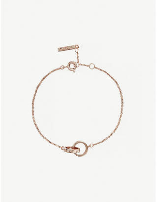 Olivia Burton The Classics rose gold-plated stainless steel chain bracelet