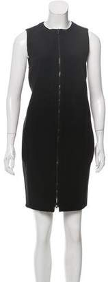 Proenza Schouler Sleeveless Zip-Front Dress