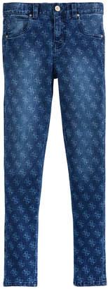 GUESS Big Girls Super Skinny Logo Jeans