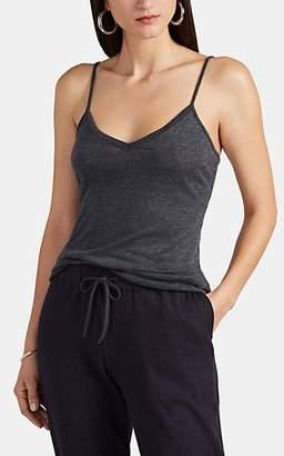 Barneys New York Women's Cashmere V-Neck Cami - Charcoal