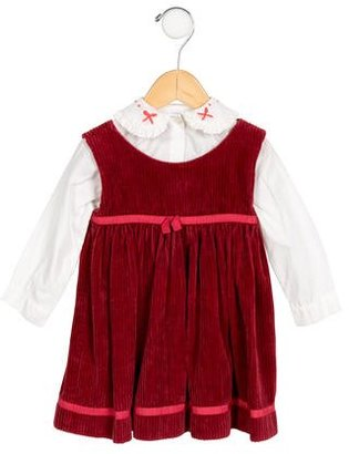 Rachel Riley Girls' Cordurory Long Sleeve Dress $45 thestylecure.com