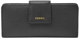Fossil Madison Slim Clutch Wallet Black