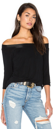 Michael Stars Off Shoulder Tee $78 thestylecure.com