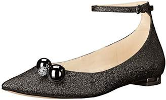 Nine West Women's Aereon Patent Pointed Toe Flat