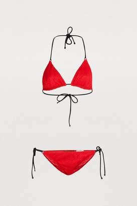 Missoni Zig Zag triangle bikini