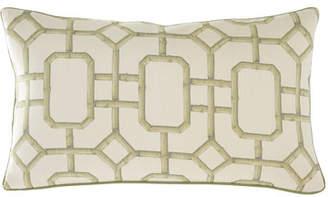 Jane Wilner Designs Bamboo Oblong Pillow