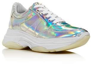 Aqua Women's Ike Lace Up Sneakers - 100% Exclusive