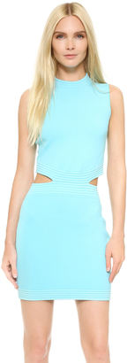 Mugler Sleeveless Dress $1,350 thestylecure.com