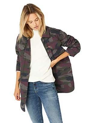 Levi's Women's Cotton Four Pocket Oversized Military Jacket