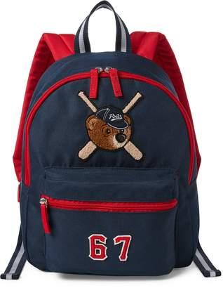 Ralph Lauren Bear-Patch School Backpack
