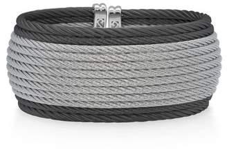 Alor Two-Tone Multi-Row Twist Cuff Bracelet