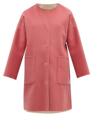 Max Mara Drava Coat - Womens - Pink Multi