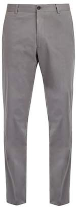 Kilgour Slim-fit cotton-blend chino trousers