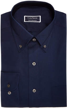 Club Room Men Slim-Fit Stretch Wrinkle-Resistant Pinpoint Solid Dress Shirt