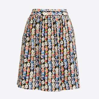 J.Crew Factory Printed mini skirt