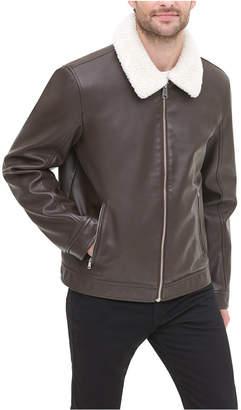 Tommy Hilfiger Men Faux-Leather Jacket