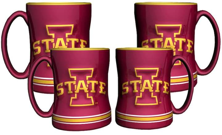 Victory Iowa State Cyclones 4-pk. Sculpted Relief Mug