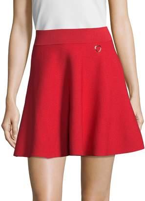 Love Moschino Women's Flared Mini Skirt