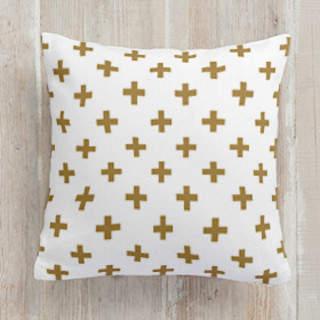 Modern Math Square Pillow