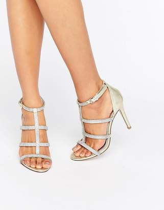 Dune London Dune Bridal Bridal Mahikie Leather Strap Sandals