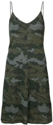 ATM Anthony Thomas Melillo camouflage print cami dress