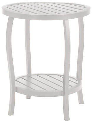 Cottage Side Table - French Linen - SUMMER CLASSICS INC