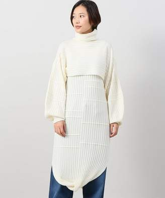 CITYSHOP (シティショップ) - CITYSHOP 【SAYAKA DAVIS】Layered Knit Dress