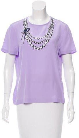 Kate SpadeKate Spade New York Printed T-Shirt Blouse