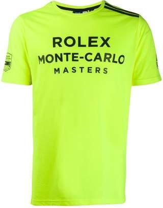 Sergio Tacchini Rolex Monte-Carlo Masters printed T-shirt
