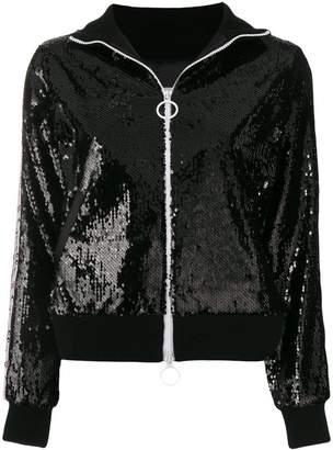 Gaelle Bonheur zipped embellished jacket