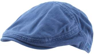 Stetson Men's Paradise Coton Flat Cap Size L Blue