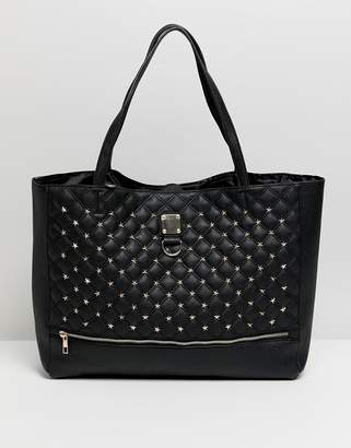Oh My Gosh Accessories Star Studded Tote Bag