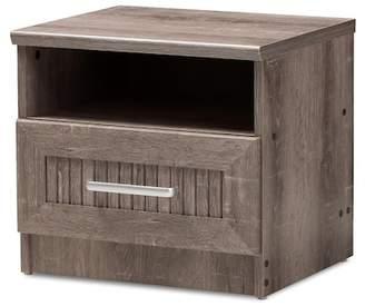 Baxton Studio Wholesale Interiors Gallia Modern Accent Table