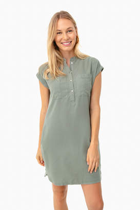 Vineyard Vines Sage Dolman Margo Shirt Dress